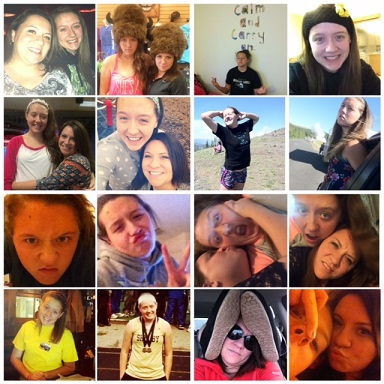 Meg-18th-birthday-collage