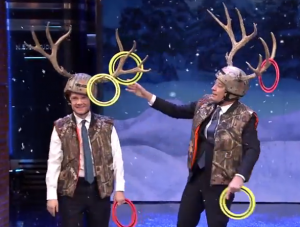 jimmy fallon antler ring toss