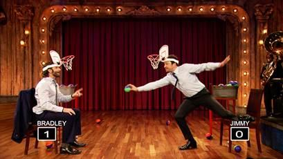 jimmy fallon bradley cooper faceketball
